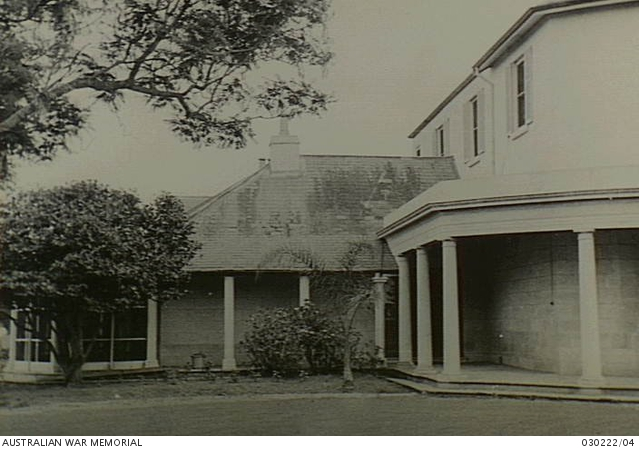 The Birk Home at Oatlands Golf Club used as a mess, Parramatta. January 1945