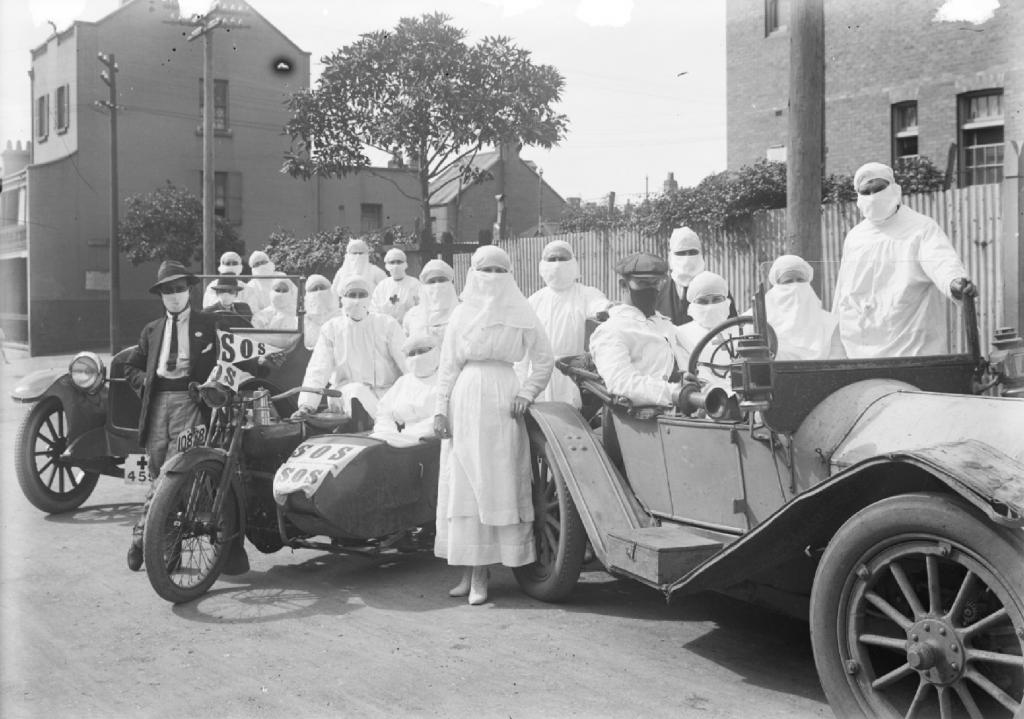 Pandemic Depot Medical Staff, 1919, NSW SRA, NRS4481_ST6679