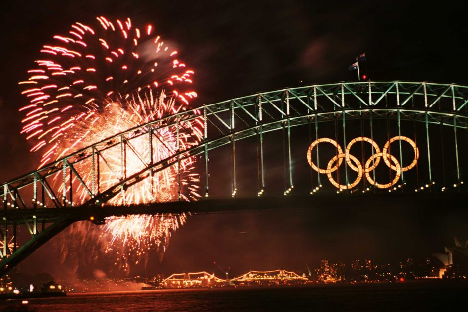 Sydney Olympics Fireworks (Image Source: Olympics Org)