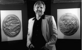 Wojtek Pietranik, designer of the victory medals for the Sydney 2000 Olympic Games (Image source: http://olympic-museum.de/w_medals/olympic_victory_medals%202000.pdf)