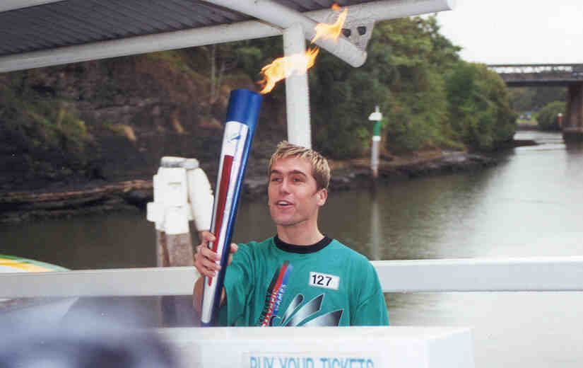 Paralympic torch - City of Parramatta Council