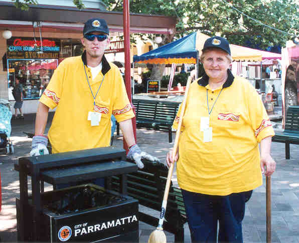 Volunteer clean team - City of Parramatta Council