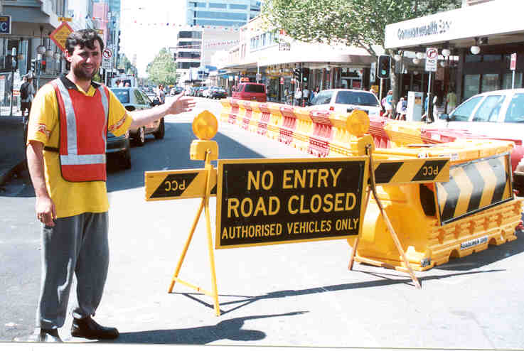 Volunteer traffic management - City of Parramatta Council