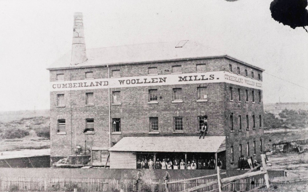 Harvey's Mill, The Cumberland Steam Mill, and Dares Mill, Parramatta