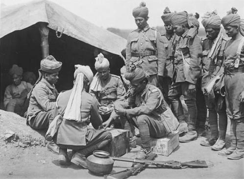 World War One – The arrival of the Indian Army in France 1914 – 1915 … Part 2