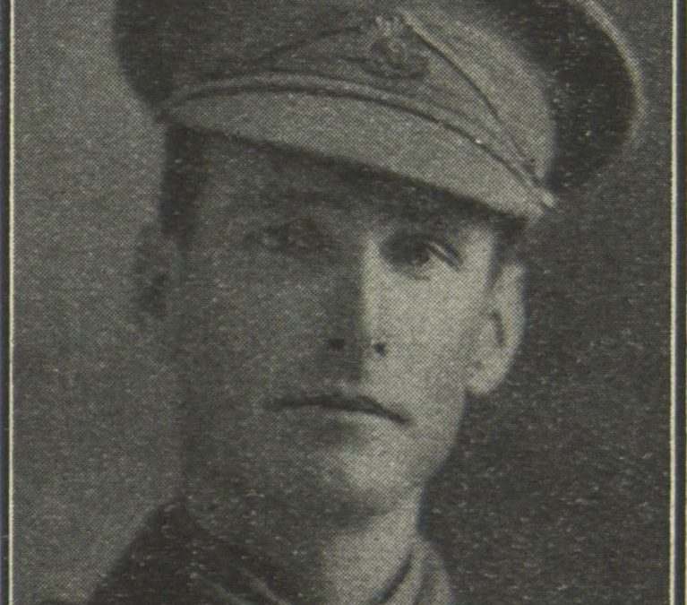 World War One – Parramatta Soldier – Private (later Corporal) Harold Allister McDougall