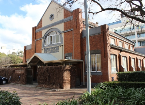 St John's Church Parish Hall, Parramatta – Centenary Square