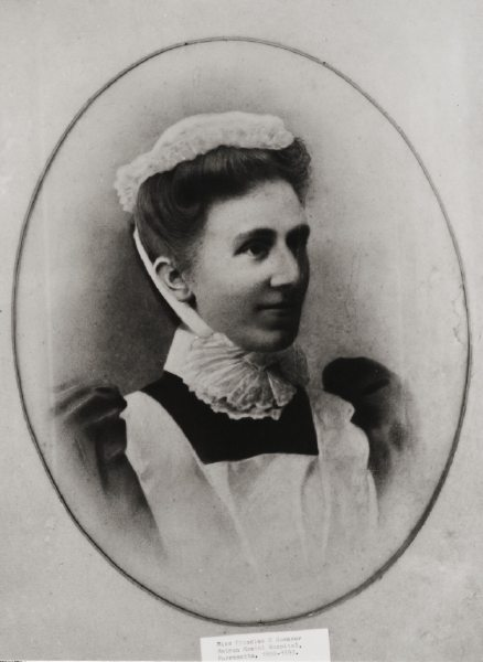 Frances Georgiana Spencer, Parramatta Hospital for the Insane Matron 1892-1893