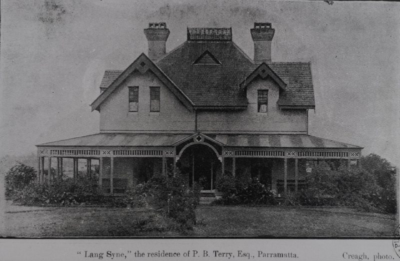 'Lang Sync' (later 'Stalam') – Demolished House in Parramatta