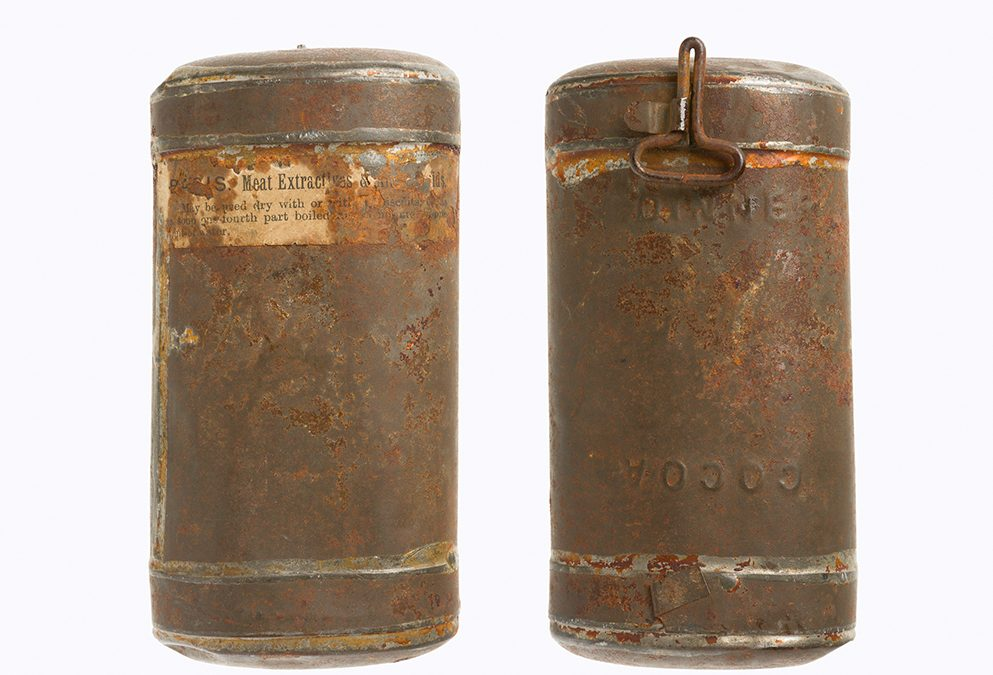 Emergency food ration tin 3D scan