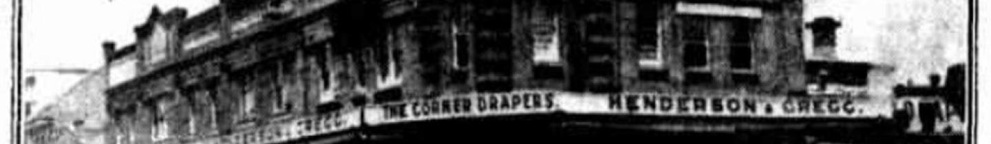 Henderson and Gregg's Drapers – Demolished House in Parramatta
