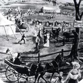 Memories of Parramatta Convicts, Fairs and Races in the 1800s.
