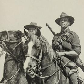 World War One – New South Wales Lancers and the 1 Light Horse Regiment 1914 – 1915