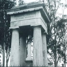 Boer War Memorial, Parramatta Park, 1904, by W. Hanson