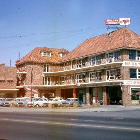 Holden House, cnr Church Street and Early Street, Parramatta, c. late-1960s (Image: City of Parramatta Community Archives, Tremain Collection).