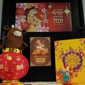 Local Studies Library 2021 Lunar New Year display