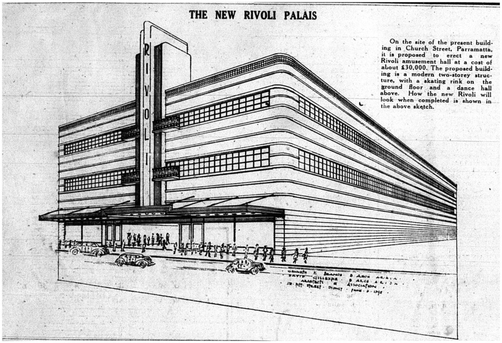 Plans for the new Rivoli Palais The Cumberland Argus and Fruitgrowers Advocate 13 December 1939