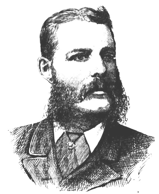 John Nobbs. Engraving that appeared in the Town and Country Journal March 24,1888