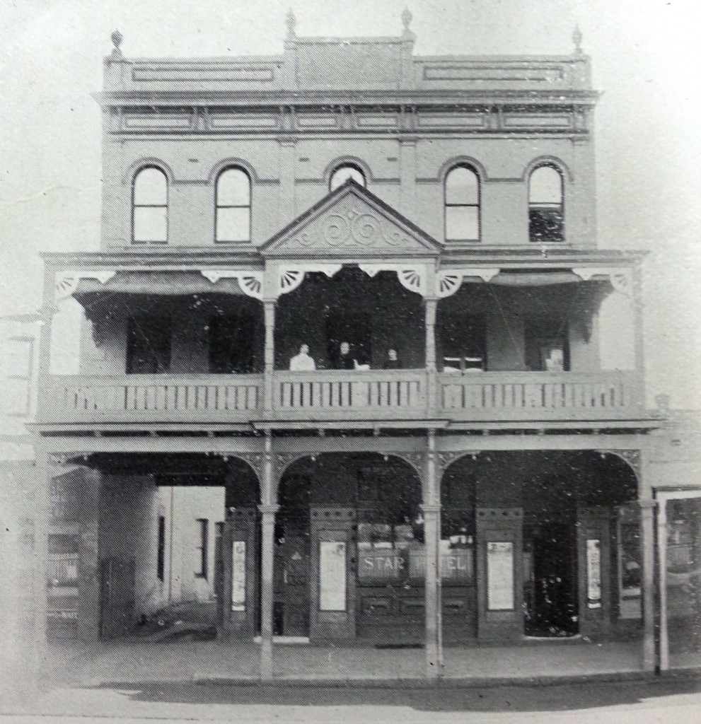 The second version of the Star Hotel 1911. A Jubillee History of Parramatta 1911.