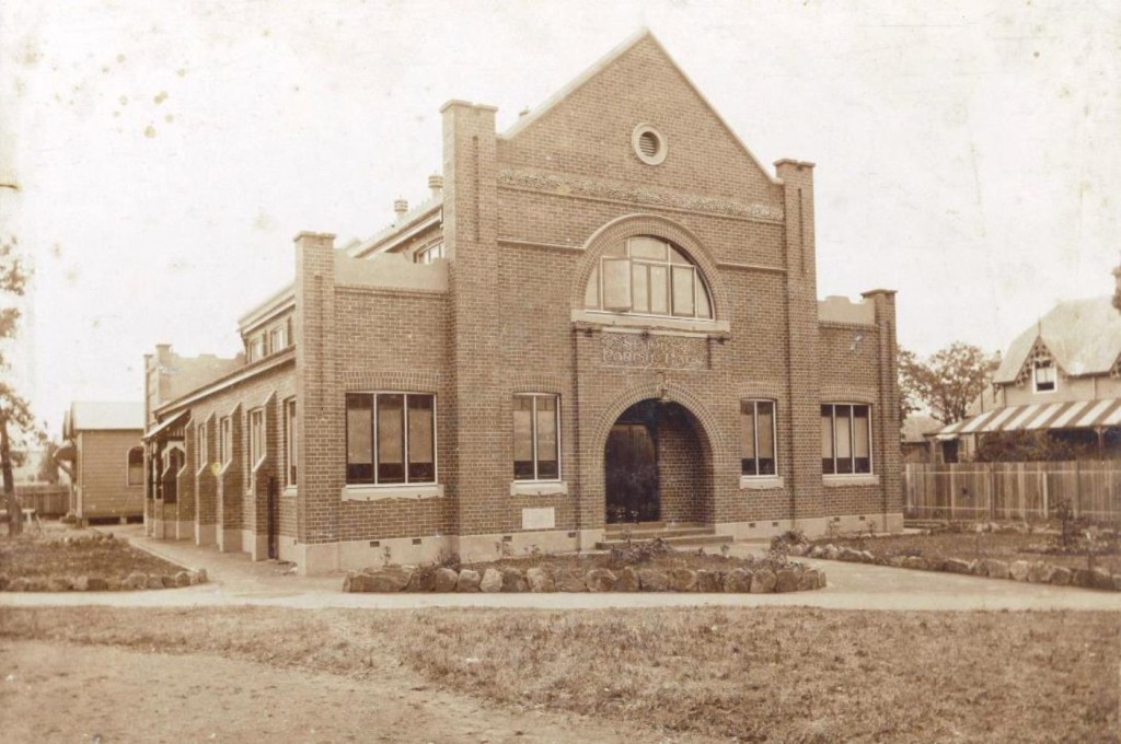St.John's Parish Hall, Courtesy of St.John's Cathedral Archives, date unknown