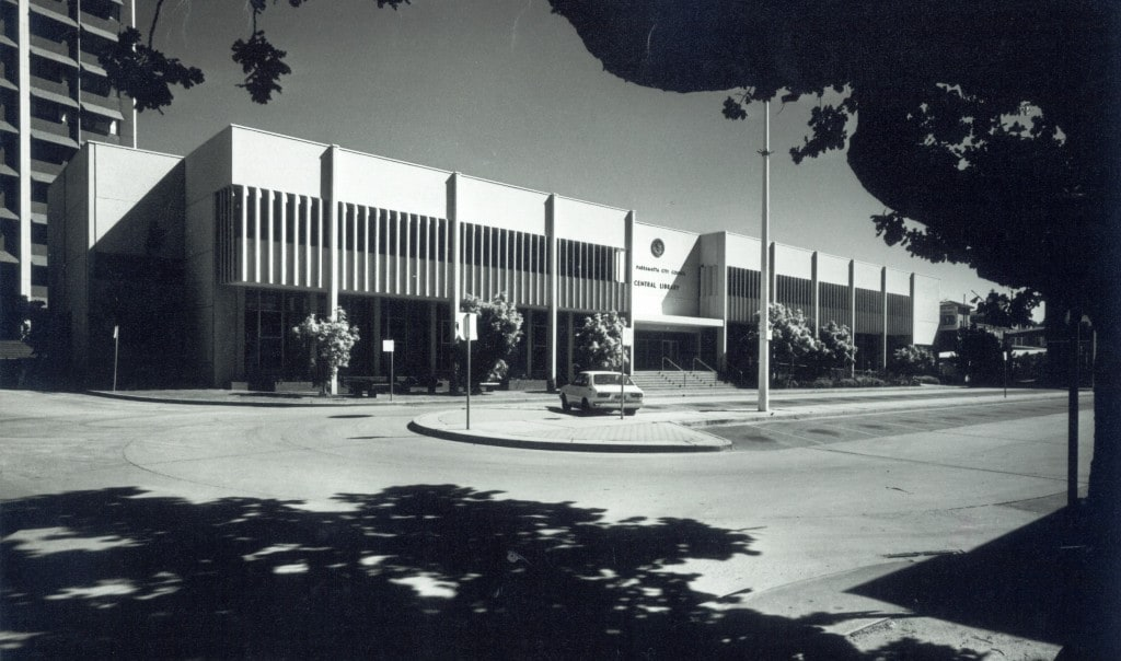 Parramatta City Library 1979. Parramatta Council Archives