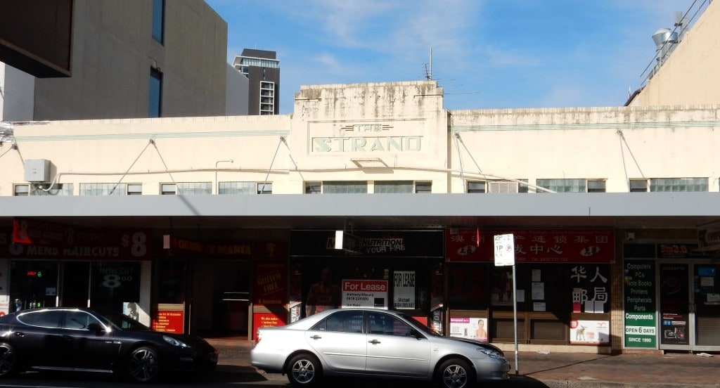 The Strand art deco Building. Built in 1939. Photograph Peter Arfanis