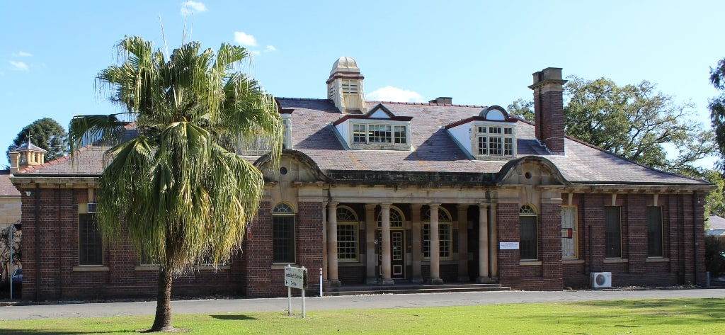GPMS Mental Health Services Unit (former Administration block Parramatta Hospital for the Insane)