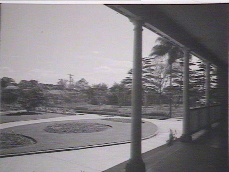 View from Male Ward veranda, facing towards Prramatta River, Source: State Library of NSW (d1_07744r)