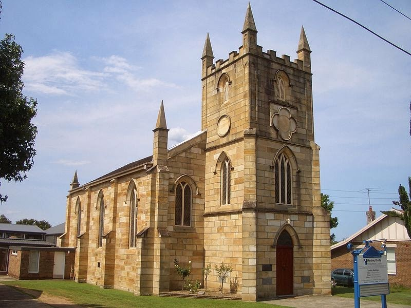 "Wentworthville Presbyterian Church formerly the ""Auld Kirk"". Image courtesy of Simon Arkapaw"