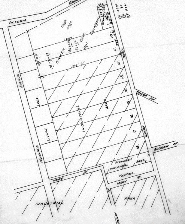 Ermington Subdivision Plan 1919
