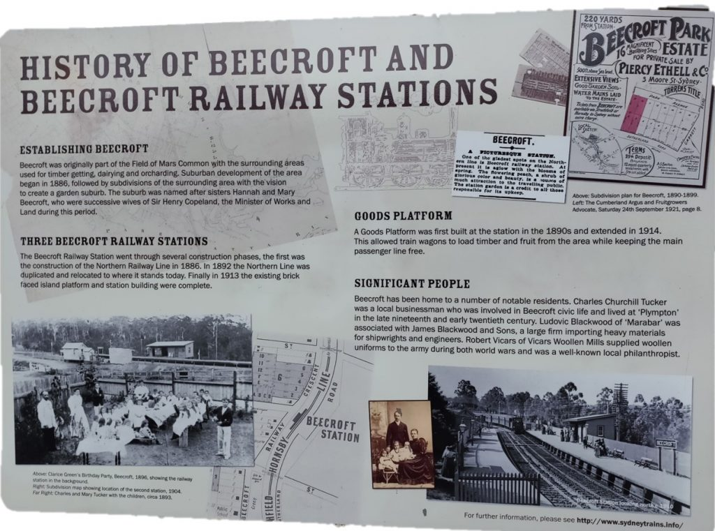 History of Beecroft and Beecroft Railway Stations